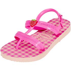 havaianas Joy Spring Sandals Kids Ballet Rose/Schocking Pink Fluor